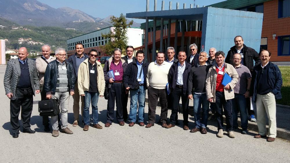 Gara di Manutenzione 2015 - Prof partecipanti