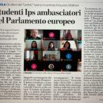 Studenti IPS ambasciatori del Parlamento Europeo